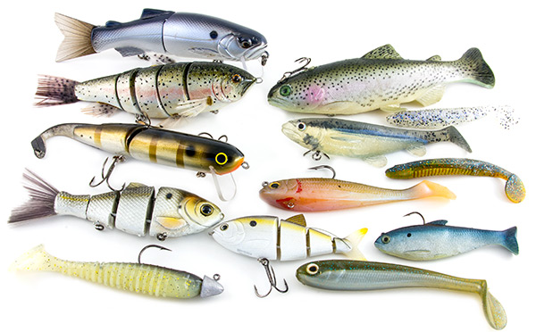 Best swimbaits for bass best bass fishing lures for Bass fishing lures