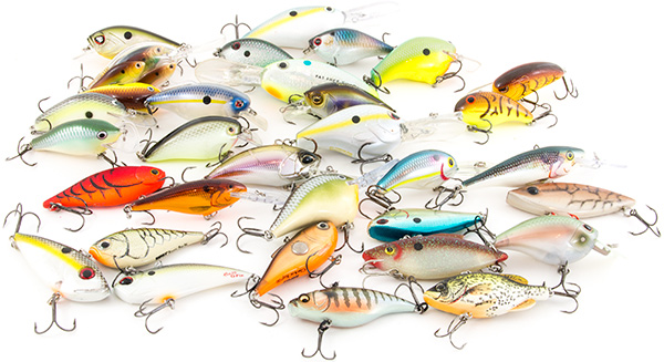 Best crankbaits for bass best bass fishing lures for Types of fishing lures