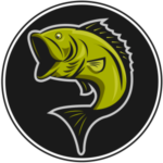 best bass fishing lures logo favicon