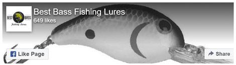 Best Bass Fishing Lures FAcebook Header image